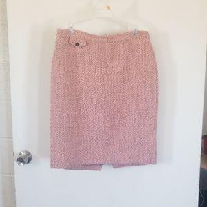 Vintage j crew womens skirt pink size 8